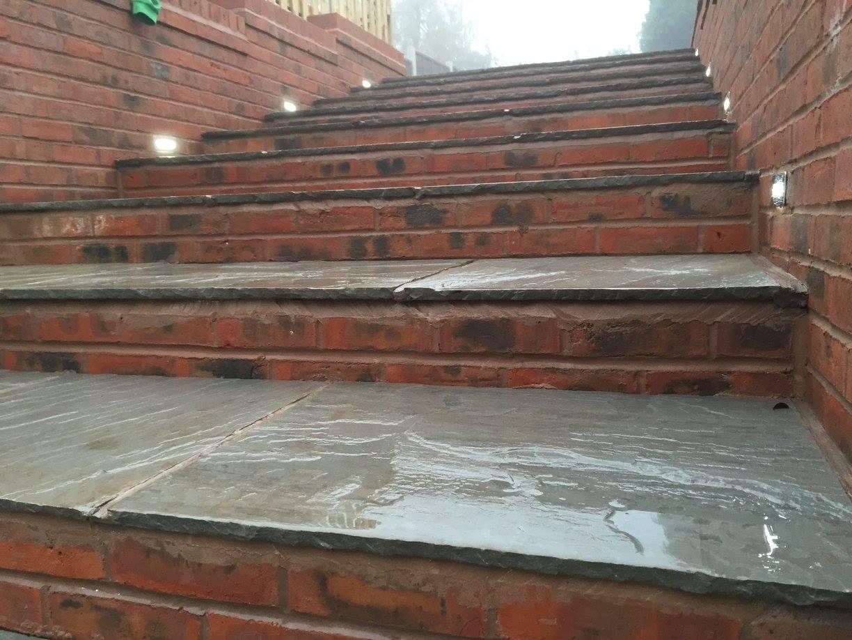 steps close up